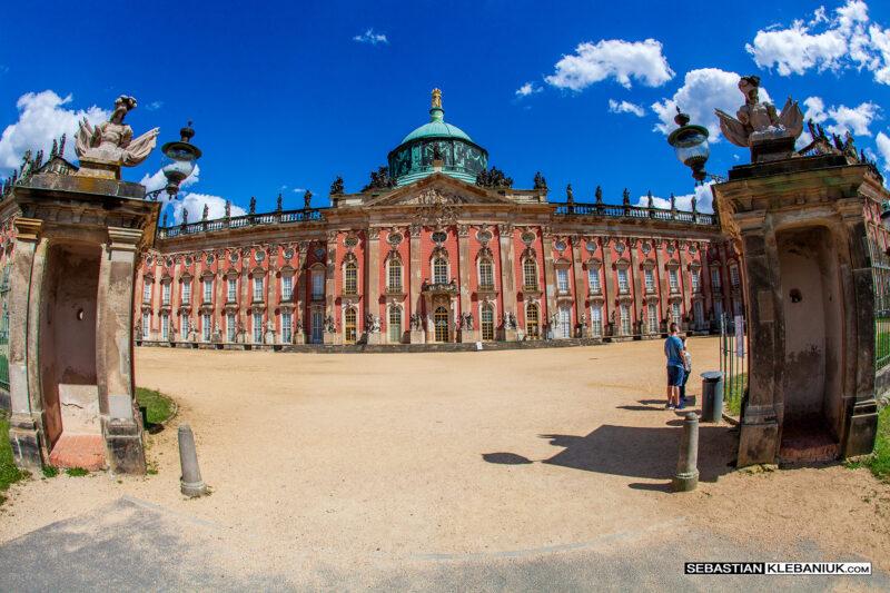 Poczdam - Neues Palais (Nowy Pałac)